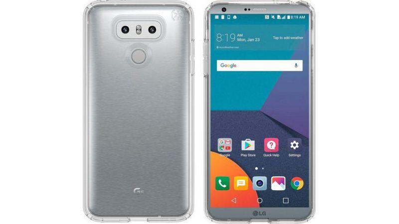 LG G6 design metal