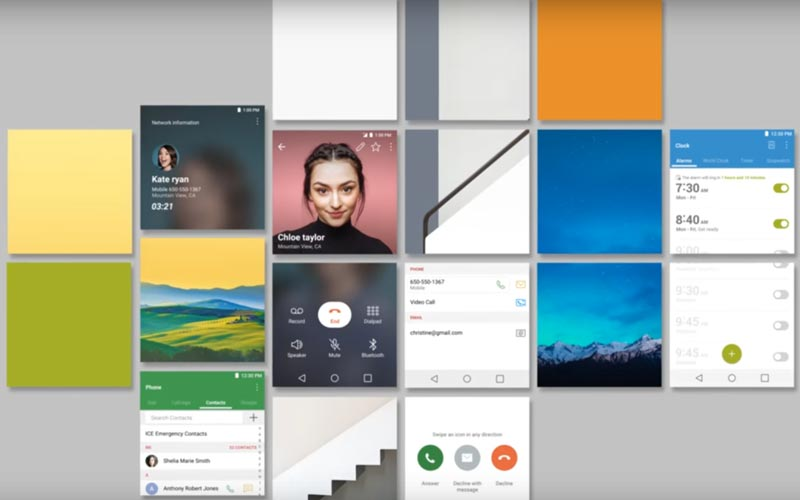 LG G6 interface