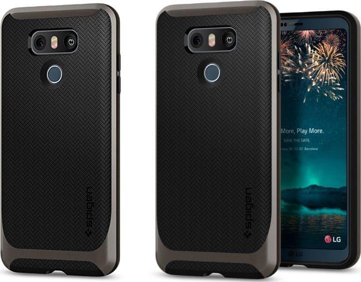 LG G6 rendu photo