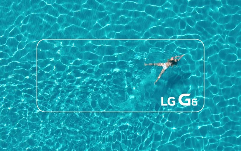 LG G6 certification IP68