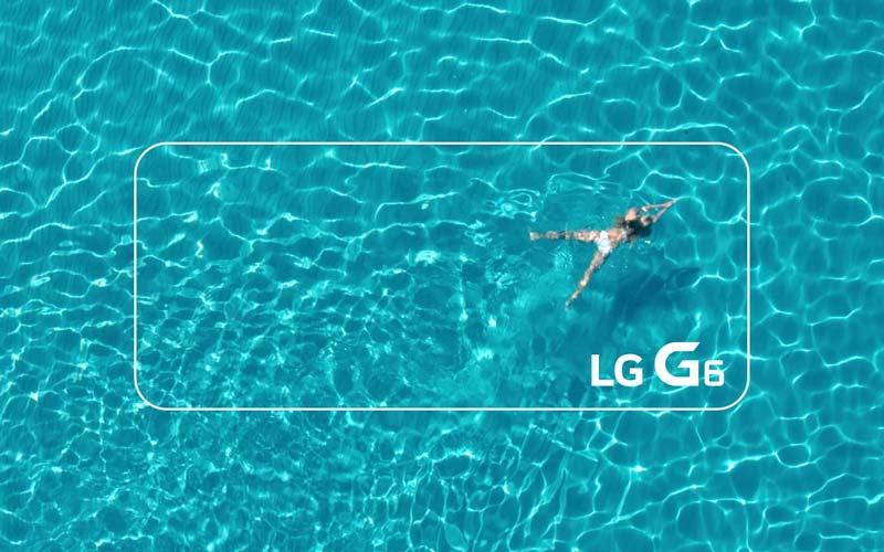 LG G6 certification IP68