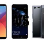 LG G6 VS huawei P10 VS Xperia XZ Premium