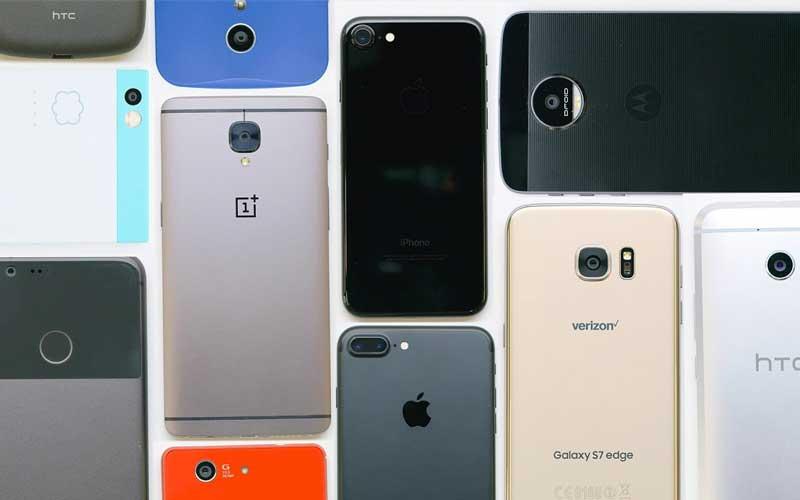 Marché smartphones 2016