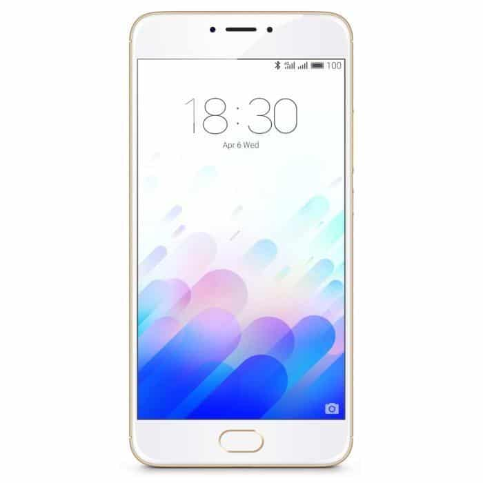 Meizu M3 Note 32 Go or blanc moins cher