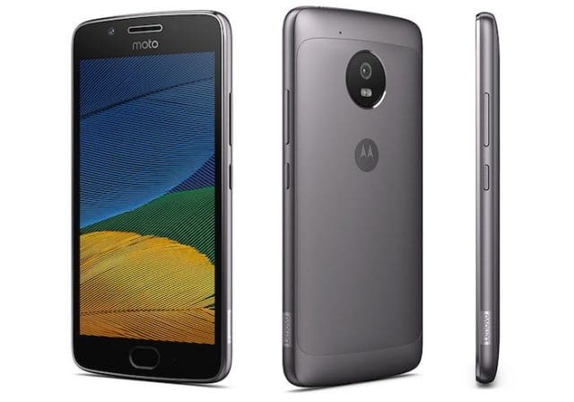 moto g5 plus officiel