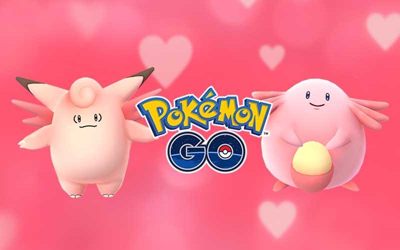 Pokémon Go Saint Valentin