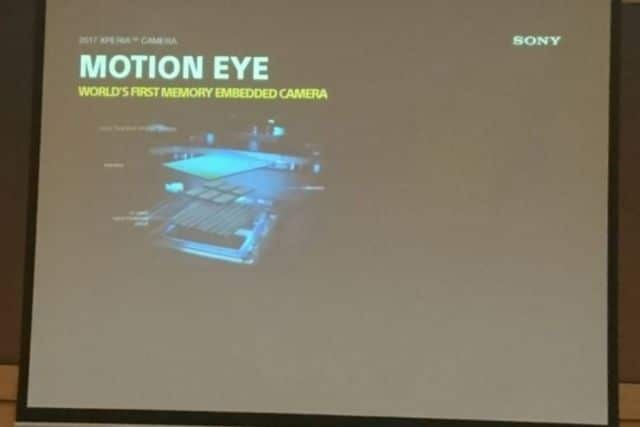 sony motion eye