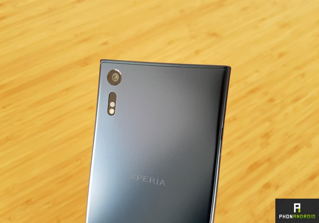 sony xperia xzs capteur photo