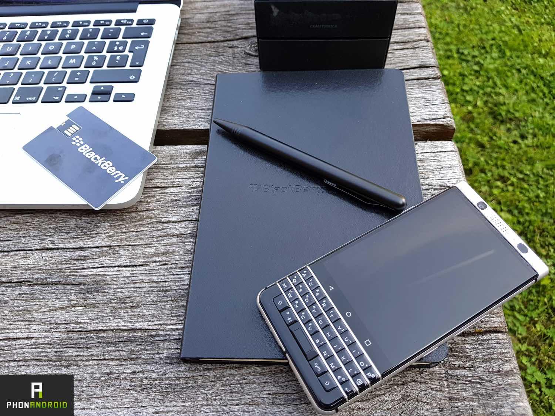 test blackberry keyone autonomie