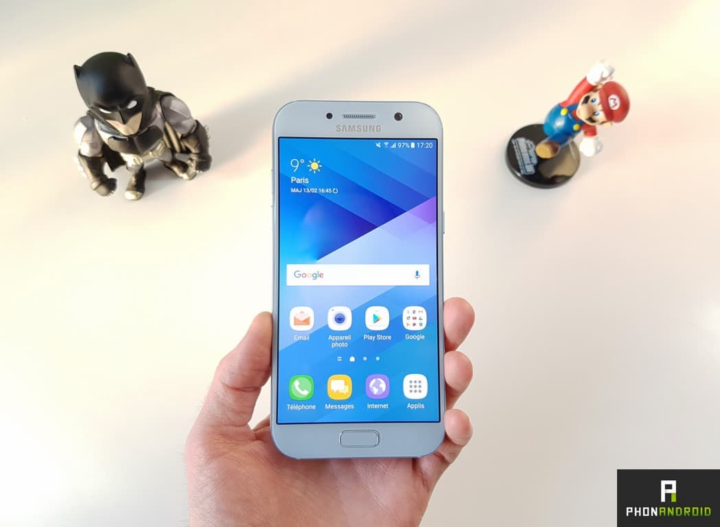 test samsung galaxy a5 2017