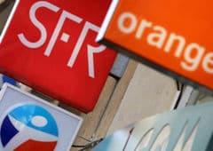 Orange SFR Bouygues free baisse prix fini