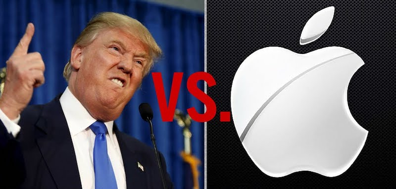 apple microsoft google contre donald trump