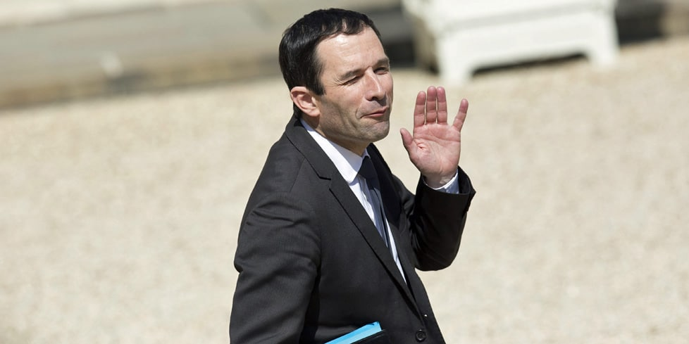benoit hamon redevance tv
