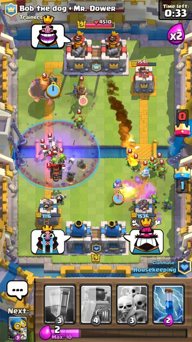 Clash Royale multijoueur
