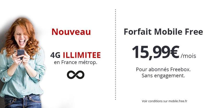 Free Mobile ilimité