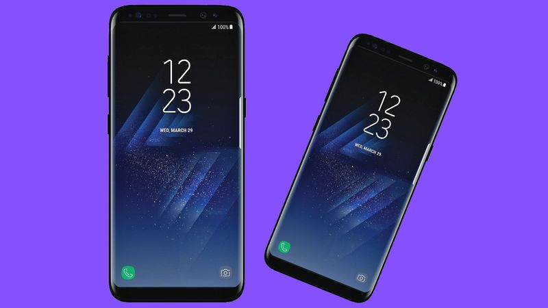 galaxy s8 affiche officielle