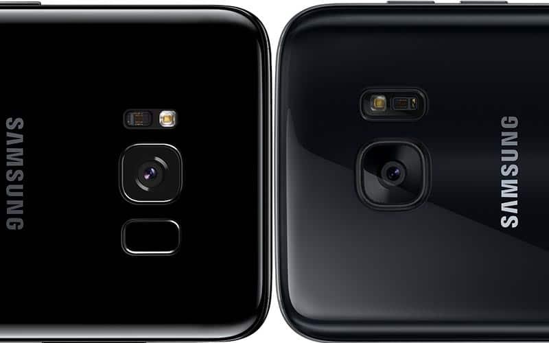 Galaxy S8 capteur photo