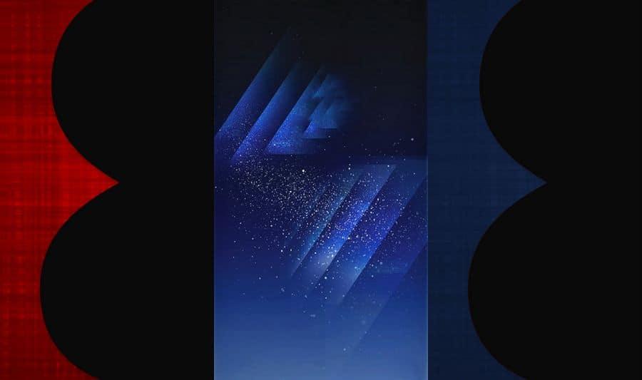 galaxy s8 fonds ecran