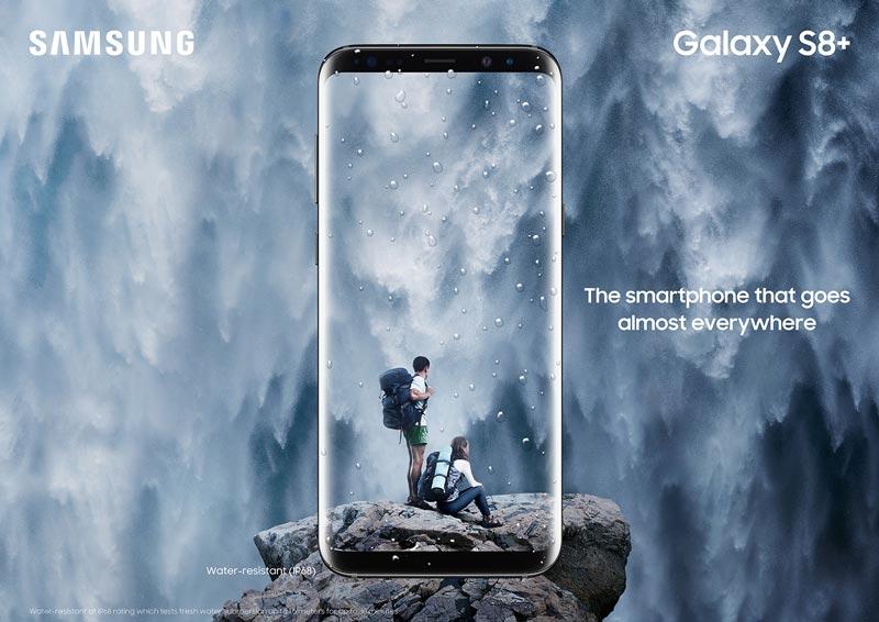 Galaxy S8+ IP68
