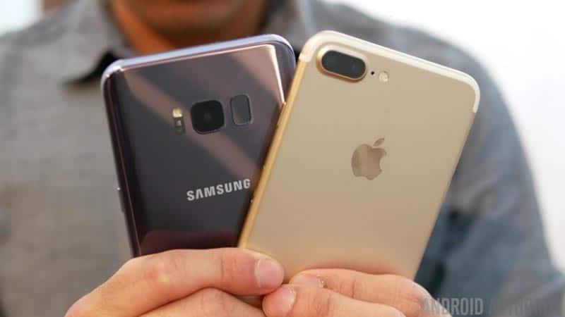 Galaxy S8+ iPhone 7 Plus