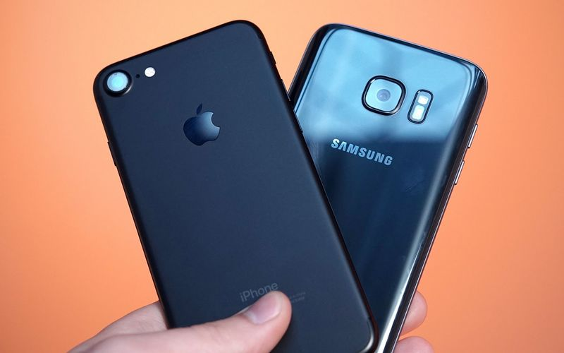 galaxy s8 s7 iphone 7
