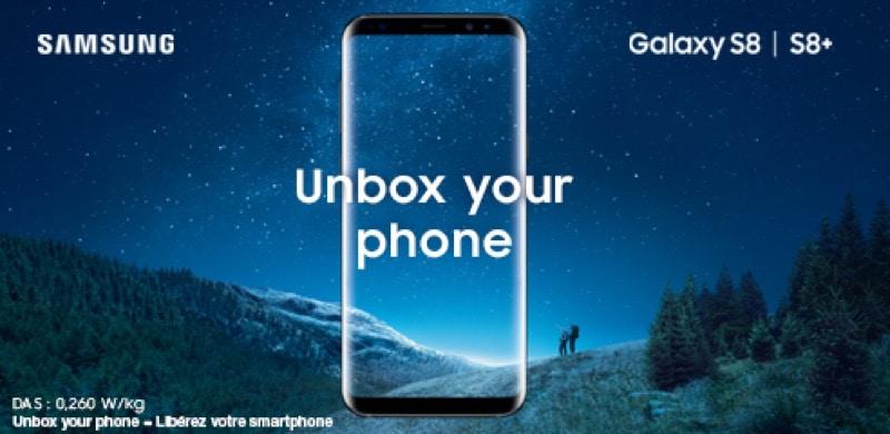 galaxy s8 precommande free mobile