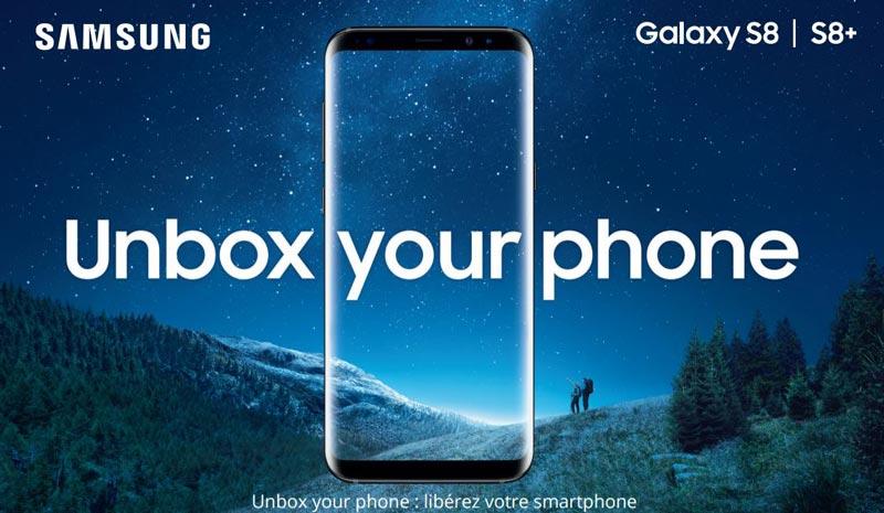 Galaxy S8 prix date