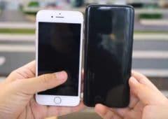 galaxy s8 vs iphone 7
