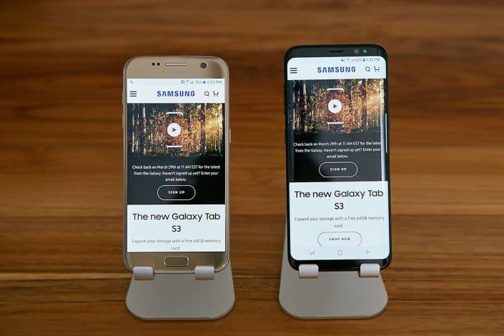 Galaxy S8 vs S7
