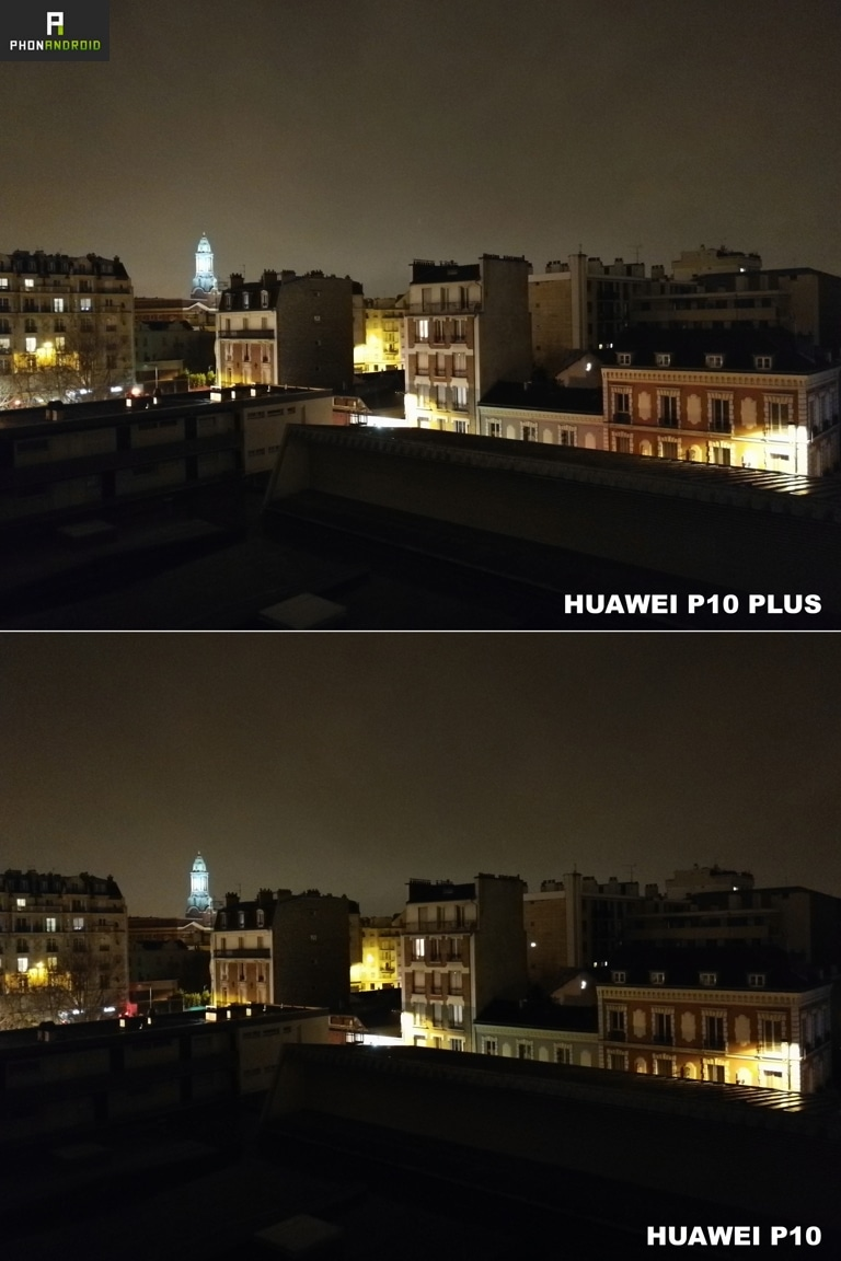 huawei p10 plus photo nuit