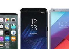 iPhone 8 vs Galaxy S8 vs LG G6