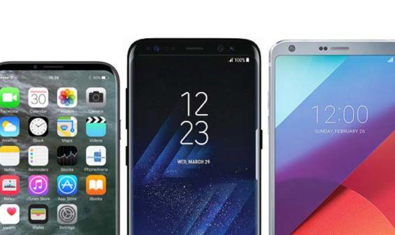 iPhone 8 Galaxy S8 LG G6