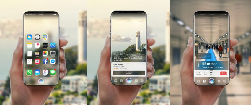 iPhone 8 siri realite augmentee