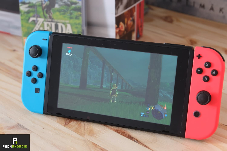 Nintendo Switch nouvelle version