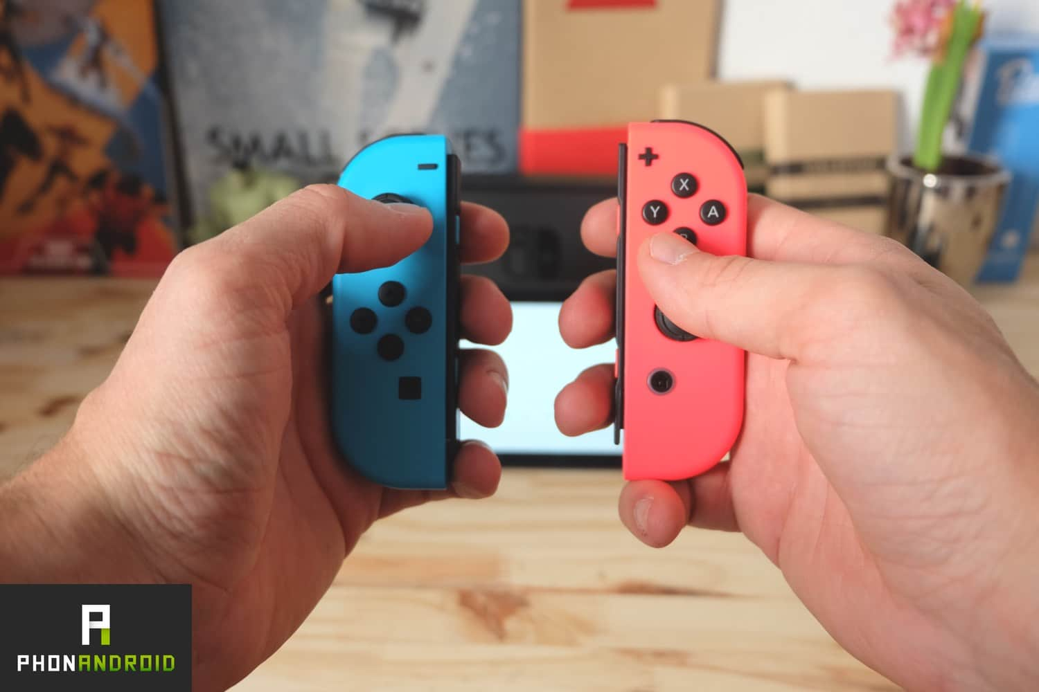nintendo switch joycon separe