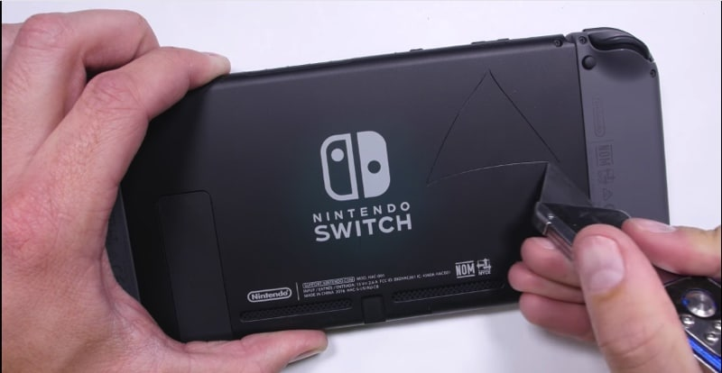 nintendo switch solide torture