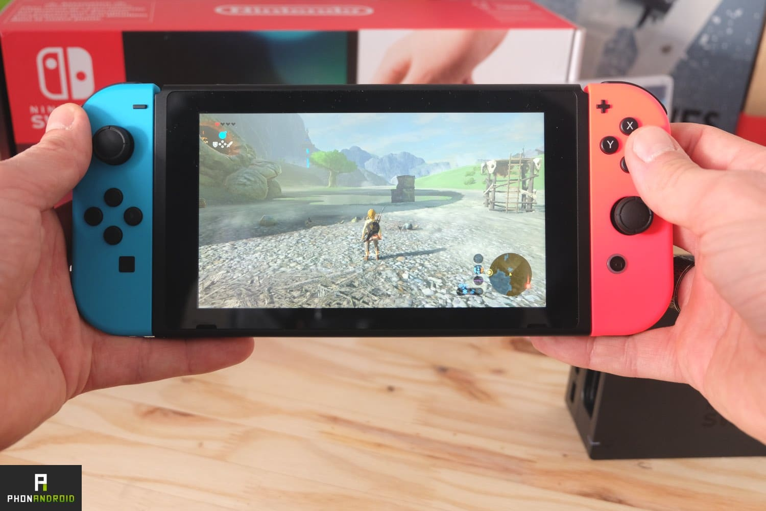 nintendo switch test