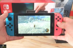 nintendo switch vacances