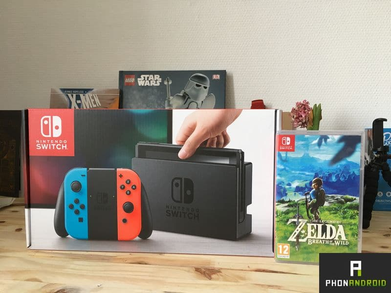 nintendo switch ventes
