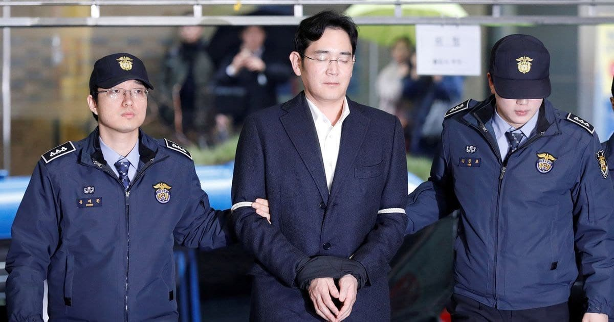 samsung corruption dissolution