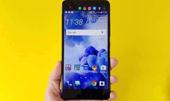 test htc u ultra ecran