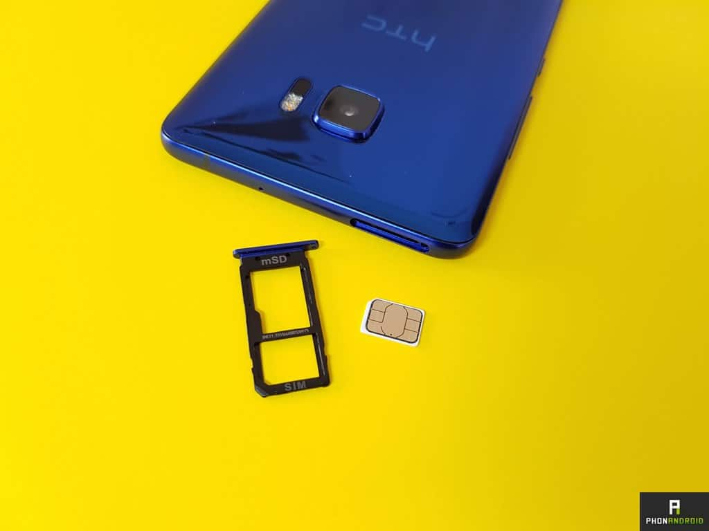 test htc u ultra nano sim
