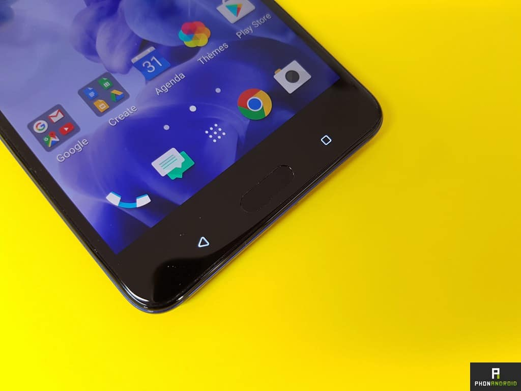 test htc u ultra touche tactile