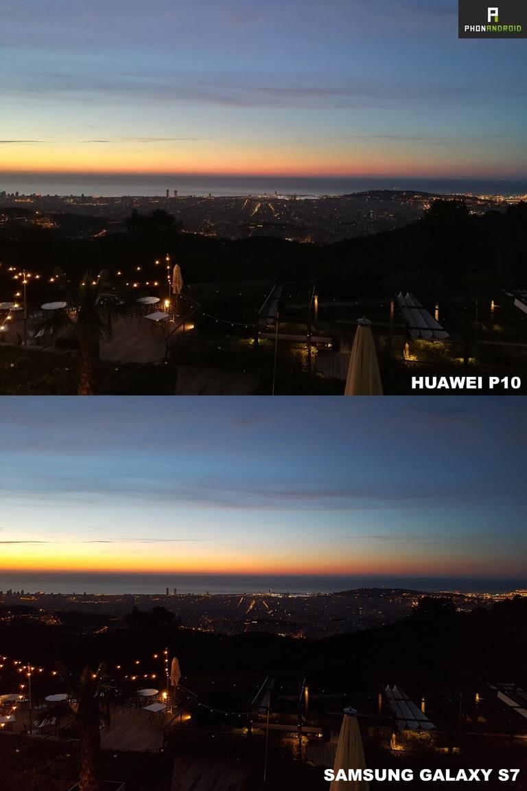 test huawei p10 photo vs galaxy s7