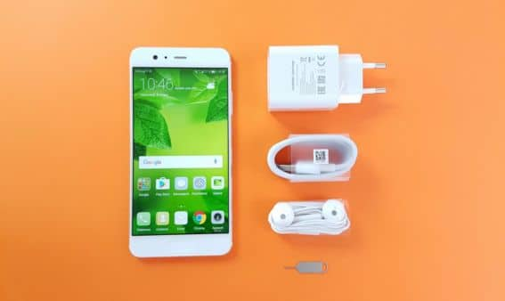 test huawei p10 plus packaging