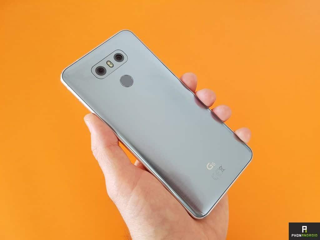 LG G6 Android Oreo