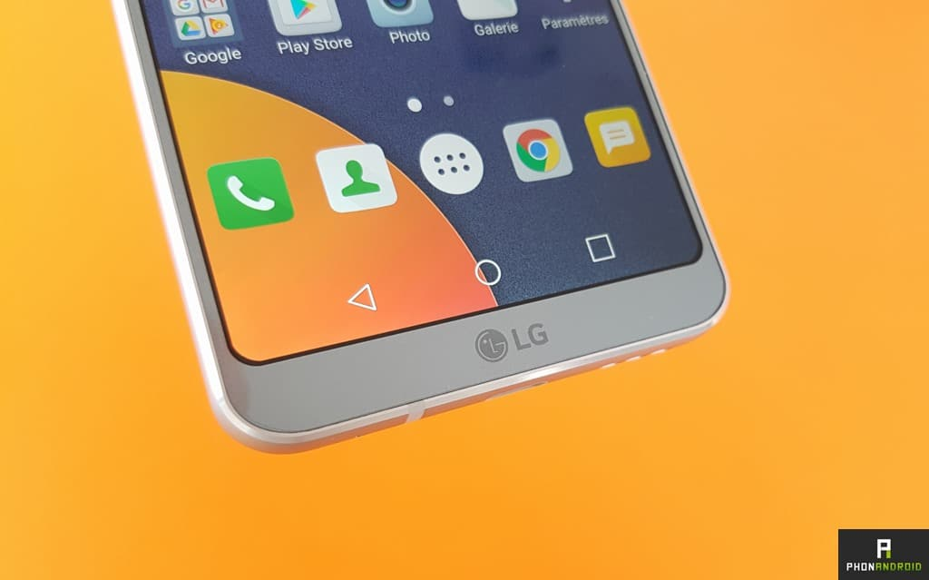 test lg g6 touches tactiles