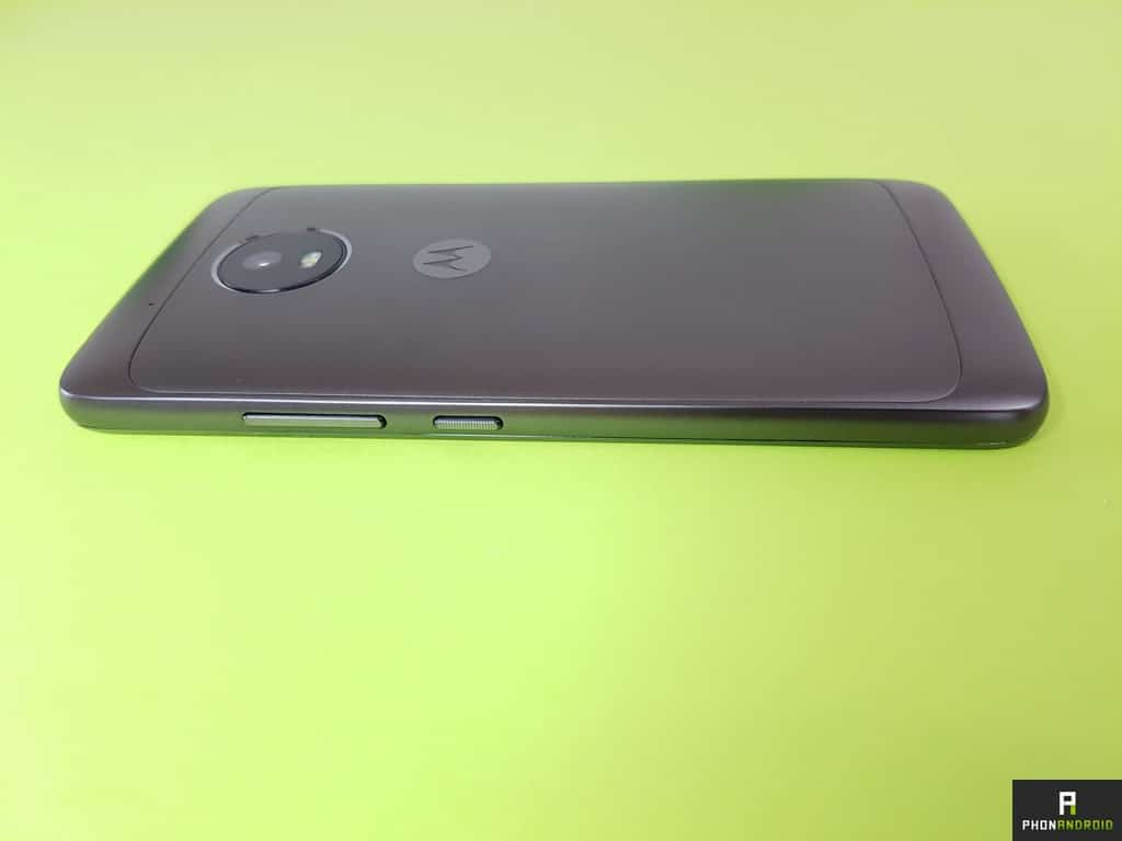 test moto g5 boutons