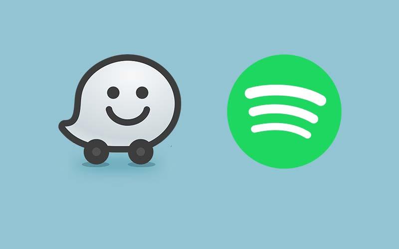 Waze et Spotify
