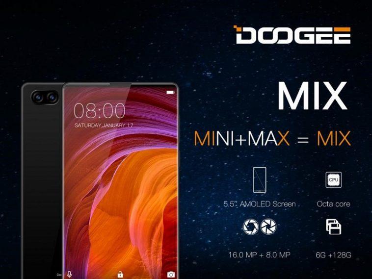 Doogee Mix Xiaomi Mi Mix
